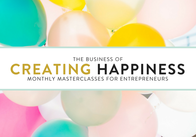 creating happiness for entrepreneurs